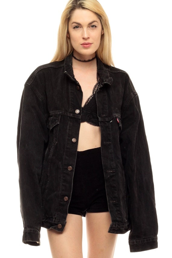 Black Womens Denim Jacket