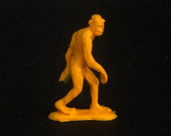 Bigfoot: hand-cast resin sculpture