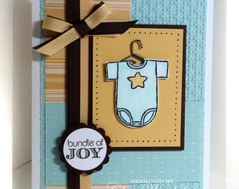 Stampin' Up Bundle of Joy Card