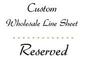 Custom line sheet update
