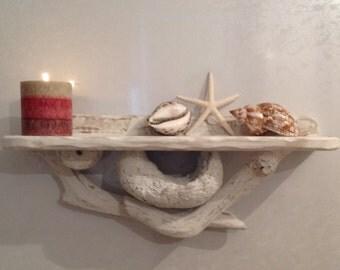 Driftwood Shelf On Etsy A Global Handmade And Vintage