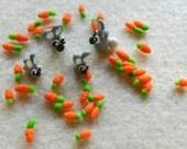 Baby Bunnies and Tiny Carrots OOAK