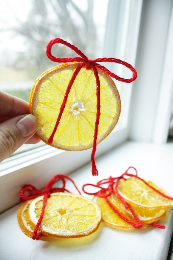 Homemade Christmas Decorations Dried Orange : Dried orange christmas ornaments by amandalebo on etsy