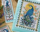 3 Pretty Peacocks - Cross Stitch Pattern