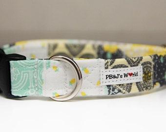 PBJ World Custom Collar...Patchwork Quilt