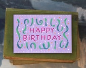 Happy Birthday Lydia // Single Card // Fawnsberg Stationery