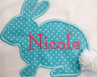 GreatSitch Easter Bunny Monogrammed Shirt