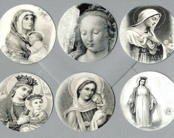 Stickers, Vintage Holy Card Images, Religious Images