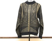 Vintage Koman mens sweater - size large Coogi style