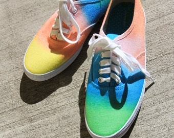 Lighter Tye dye shoes!