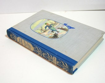 Hans Brinker Or The Silver Skates By Mary Mapes Dodge, Illustrated Junior Library Edition