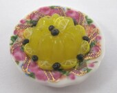 RESERVED for minterior Dollhouse Miniature Food Lemon Jello in 12th Scale