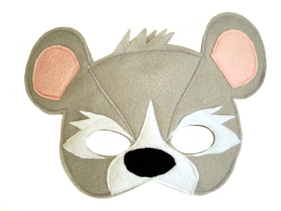childrens mouse felt mask