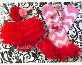 4 piece set HEADBAND Bloomer NECKLACE and Leg warmers-Chiffon Ruffle Bum Baby Bloomer Legwarmers Diaper Cover  Set- Photo Prop- My2lilP