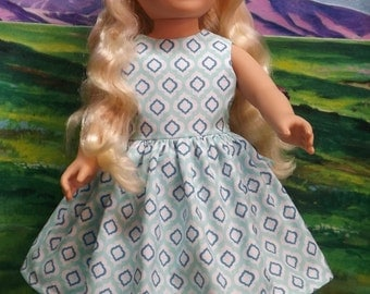 18 inch DOLL CLOTHES Sleeveless Dress