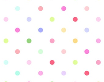 Sunrise Studio Multi Dot  Cotton Fabric  by Lakehouse Dry Goods LH14031multi