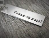 Keychain 'Found My Keys', Gift for Men and Women, Gift for Guys, Boyfirends, Husbands,...