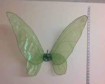Beautiful Unique Green Realistic Tinkerbell Fairy Wings medium