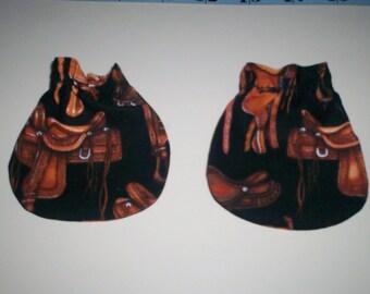 Yee Haw Western Saddles Baby Mitts