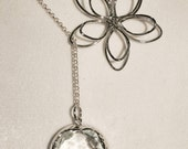 14K Gold Fill or Sterling Silver Lariat Necklace - SALE 20% OFF