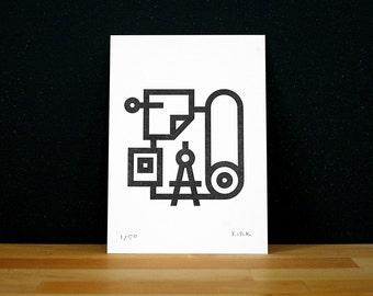 Create Letterpress Print