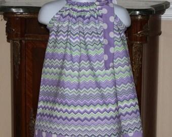 Pillowcase Dress, adorable baby toddler Easter dress in lavender, purple, white, mint green, dressesby blakeandbailey