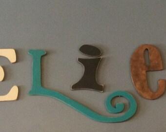Custom cut letters, Believe