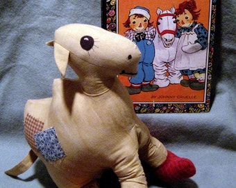 Raggedy Ann's Camel with Wrinkled Knees Artist PDF Pattern