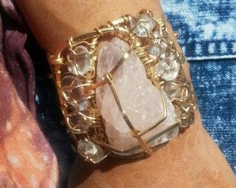 Regal Rose quartz Bracelet