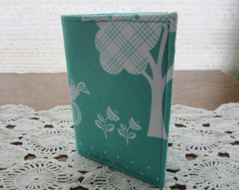Passport Cover - Cruzin Bike Bicycles Teal  Holder - Ready to Ship