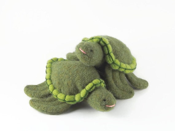 Sea Turtle, waldorf toy, eco friendly toy, all natural toy, toy turtle, stuffed turtle, stuffed animal, stuffed toy,