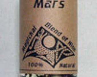 Mars Planetary Magical Oil - Occult Pagan Wicca Witchcraft Candleburning Magick Spells