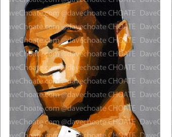Mike Tyson Art Photo Print
