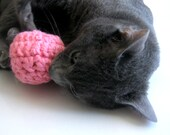 Set of 4 CatNip Toy Balls - Wool Cat Nip Toy Balls