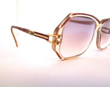 Designer Eyeglass Frames With Rhinestones : Popular items for vintage cazal frames on Etsy