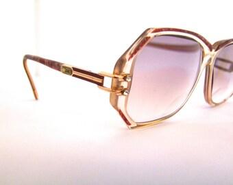 Stunning  CAZAL Eyeglasses //  Vintage Designer Frames // Rhinestones // Model 169 // Cazal