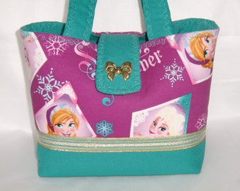 Frozen Sisters Forever Child Bow Charm Handbag