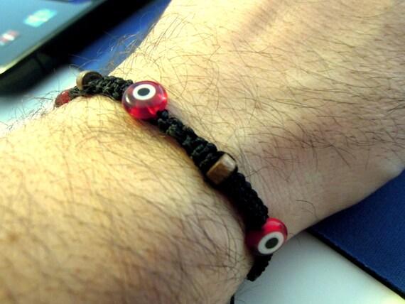 Men's Bracelet, Evil eye shambala bracelet, FREE SHIPPING, Jewelry For Men ,evil eye bracelet, friendship bracelet, tennis bracelet