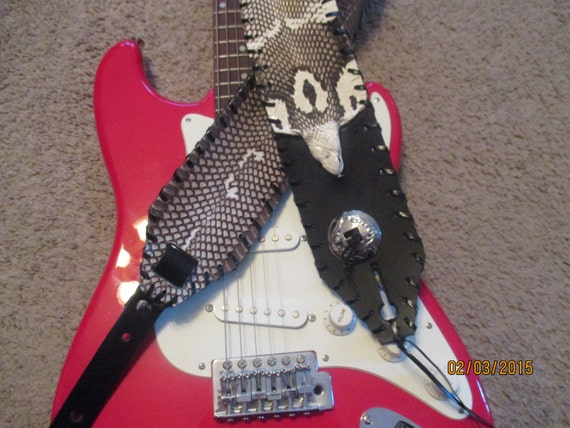 King Cobra and Concho Guitar Strap