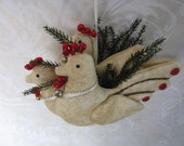 Three French Hens - 12 Days of Christmas Ornament