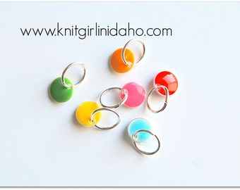 Little Gems Brite Stitch Markers (Set of 6)