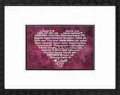 LOVE Languages - Watercolor Collection: Rose Petals - 8.5 x 11 Art Prints