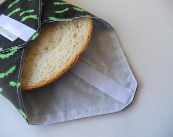 Bats Reusable Sandwich Wrap/Glow in the Dark Bats Reusable Sandwich Wrap