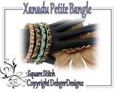 Xanadu Petite Bangle - Tila Beading Pattern Tutorial