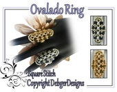 Ovalado Ring - Tila Beading Pattern Tutorial