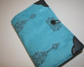 Steamtrunk design Embroidered Book Cover