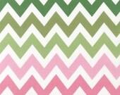 Medium Chevron Fabric in Primrose by Robert Kaufman Fabrics - 1 Yard- By the Yard