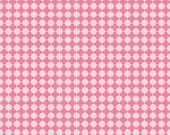 Mini Quatrefoil Fabric in Pink/Hot Pink by Riley Blake Designs - 1 Yard- By the Yard