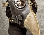 Plague Doctor Gas Mask, Antiqued Copper - MS053CA