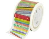 Limited Edition mt Japanese Washi Masking Tape - Books 30mm wide